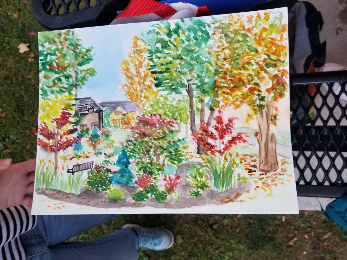 Watercolor Workshop Oct 5th, 2017